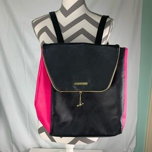 Juicy couture backpack black and pink